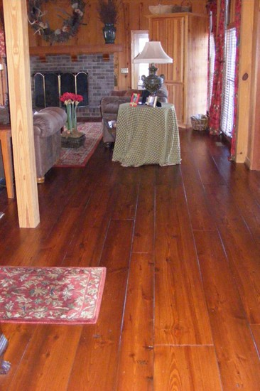 Pine Wide Plank Flooring - In the Farmhouse
