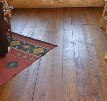 Pine Wide Plank Flooring - Farmhouse
